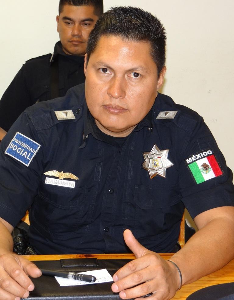 Comisario de Tránsito y Vialidad Félix Jaime Mejía Velázquez