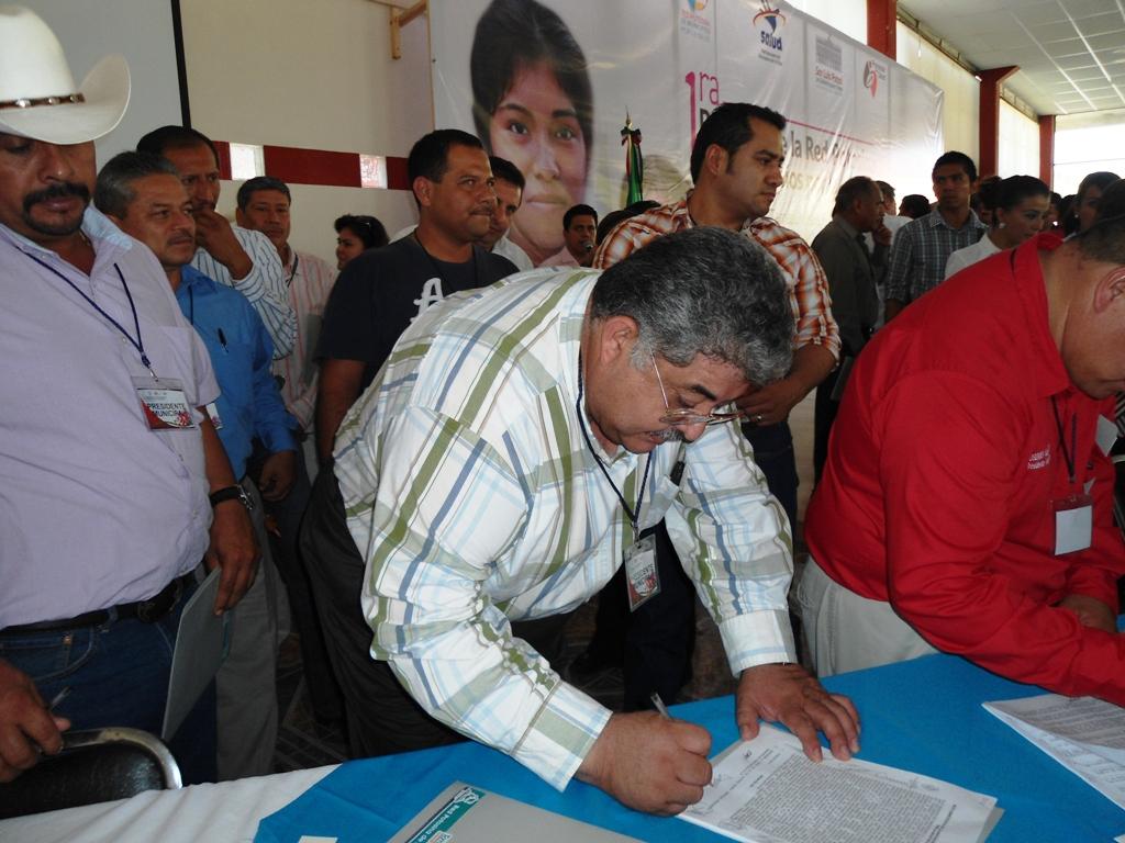Se firmaron importantes acuerdos y compromisos