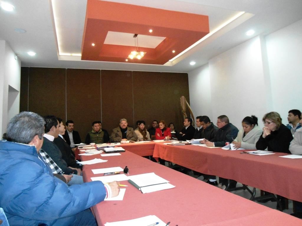 Alcalde se reunió con directores de departamentos