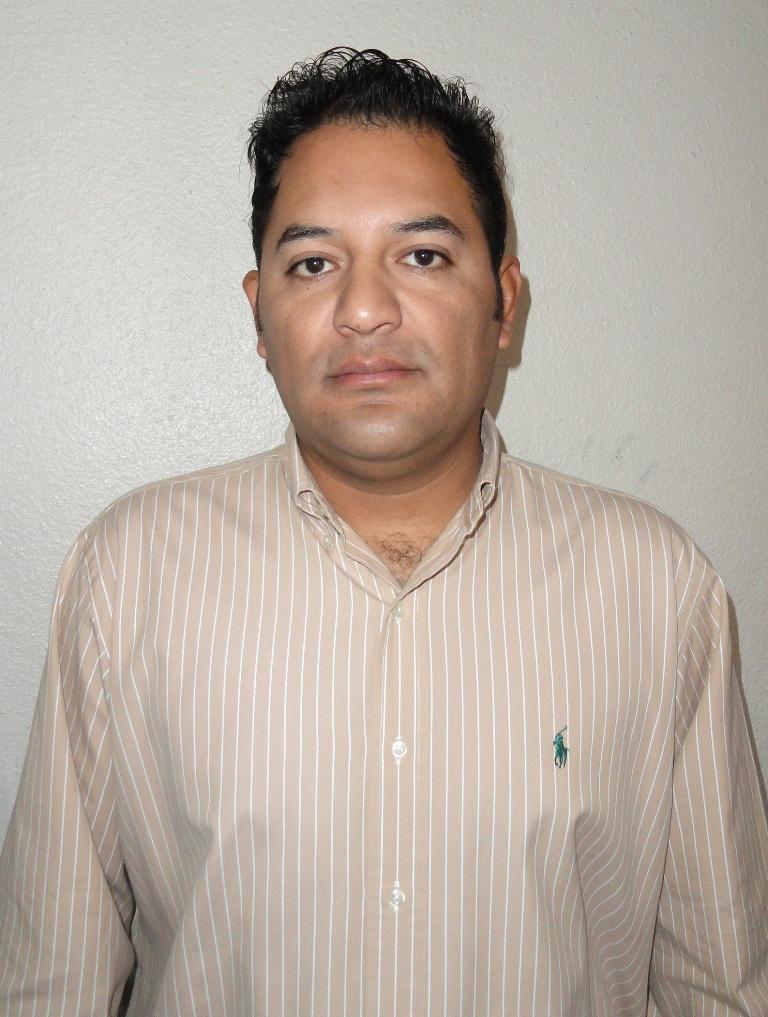 Juan Miguel Sagredo Calderón titular de la oficina de Catastro Municipal