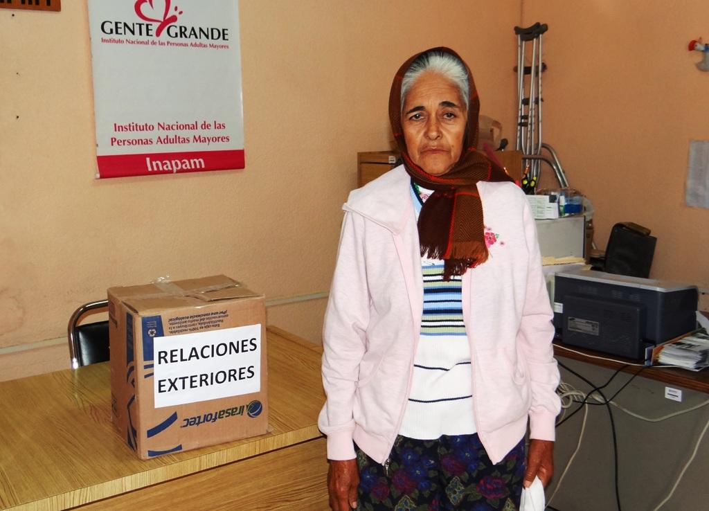 Se han entregado despensas donadas por los departamentos de Presidencia Municipal