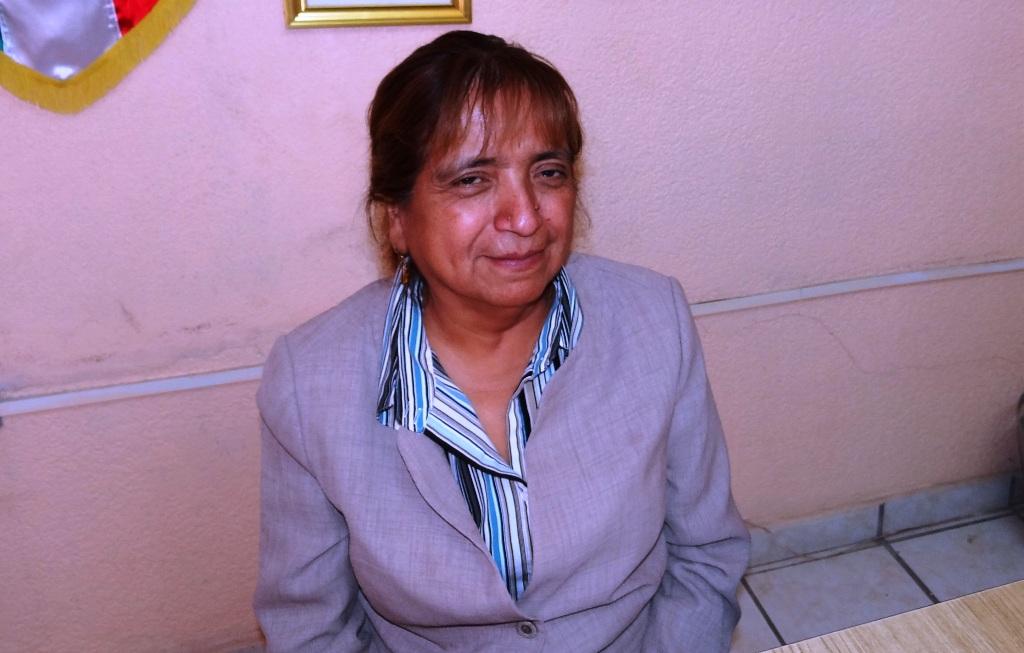 Titular del INAPAM Profra. Elsa Cervantes Maldonado
