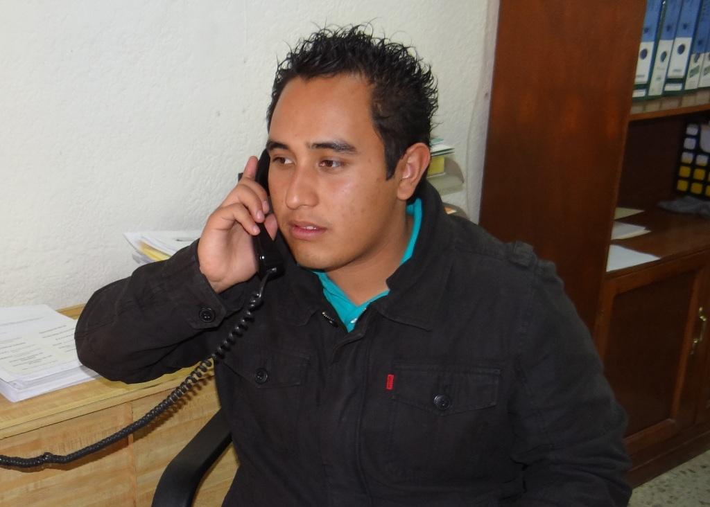 José Carlos Gaspar Espinoza, titular de Atención a la Juventud