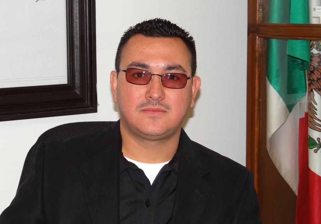 Lic. Miguel Chávez Rangel, titular de Seguridad Pública Municipal