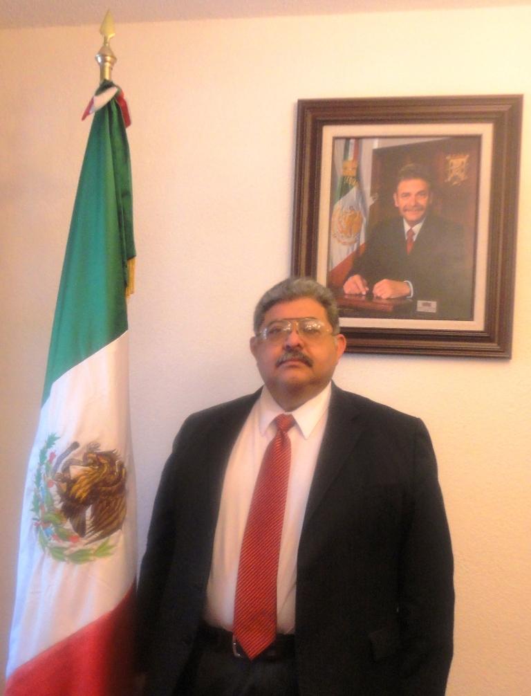 Presidente Municipal de Matehuala Ing. Héctor Fermín Ávila Lucero