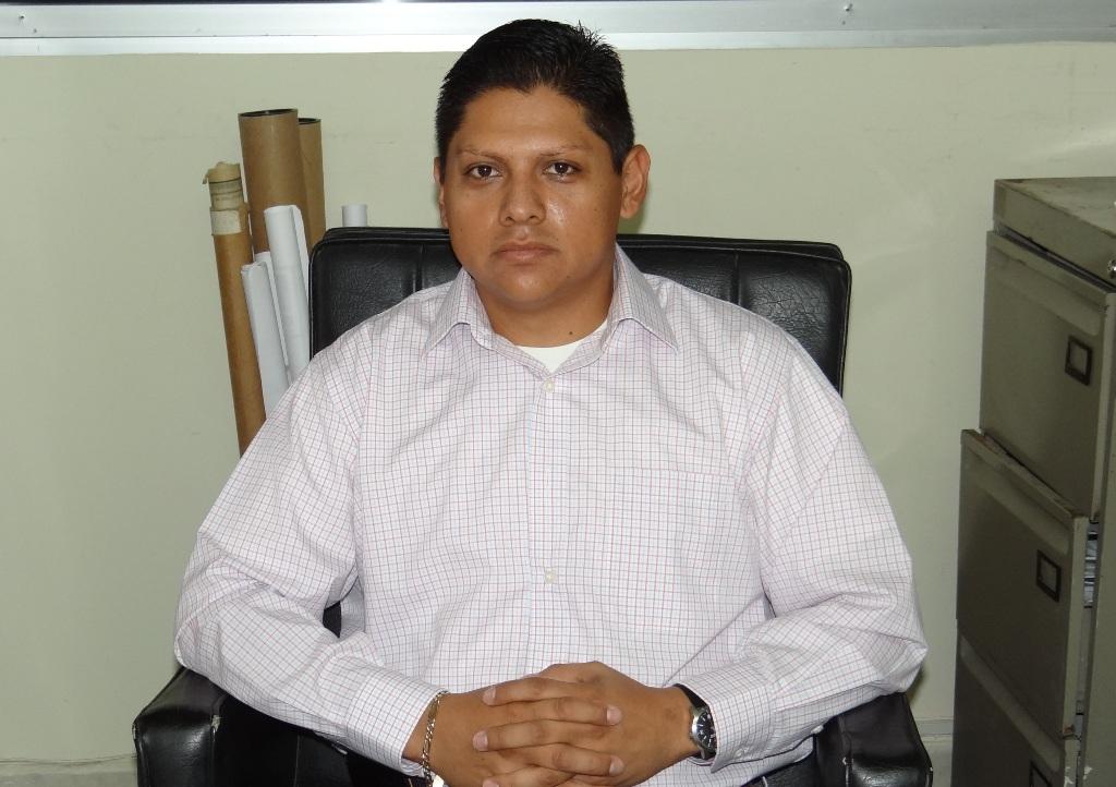 Titular de Obras Públicas, Ing. Juan Rafael Pantoja García