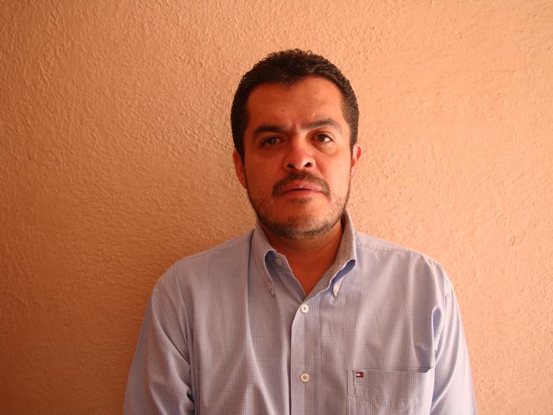director de Protección Civil Municipal de Matehuala, José Ángel Gutiérrez