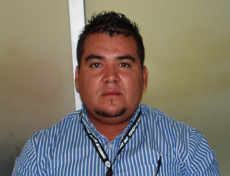Pablo Ernesto Navarro Briones, titular de Inspección de Comercio