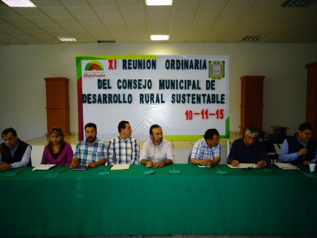 autoridades pusieron en marcha la onceada reunion de consejo de desarrollo rural municipal